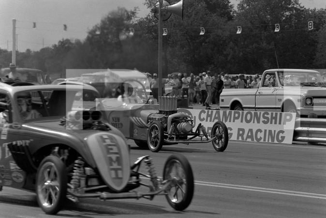 1971 NHRA Springnationals - Dallas International Motor Speedway Lewisville - Three Alarm Race