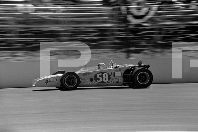 1973 USAC Champ Car Series Schaefer 500 - Pocono Motor Speedway - Long Pond Pennsylvania