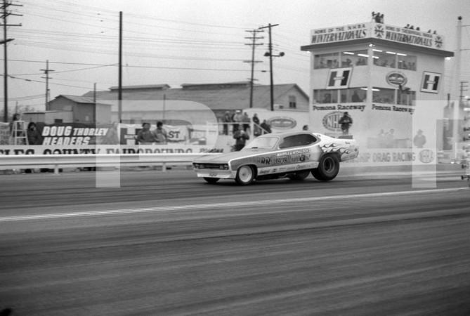 1972 NHRA Winternationals - Pomona, California