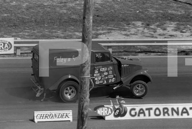 1971 NHRA 2nd Annual Gatornationals - Gainesville Raceway Florida
