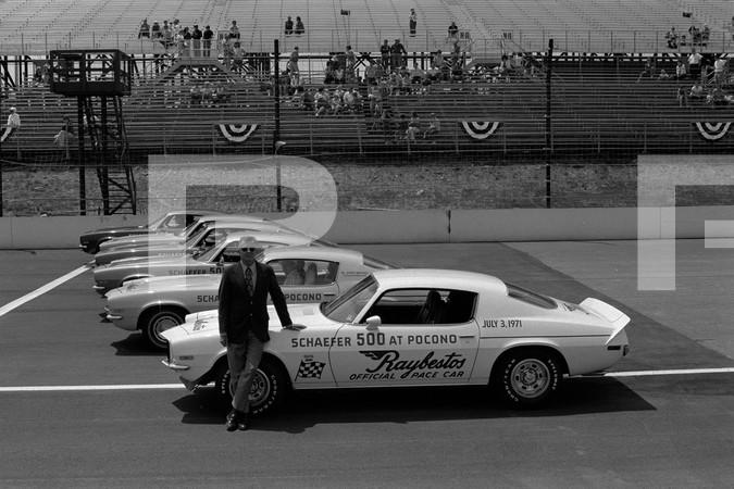 1976 USAC Champ Car Series Schaefer 500 - Pocono Motor Speedway - Long Pond Pennsylvania