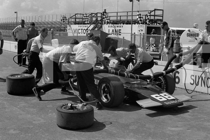 1973 USAC Champ Car Series Schaefer 500 - Pocono Motor Speedway - Long Pond Pennsylvania