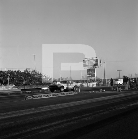 1972 NHRA All Pro Series II Drag Race - Orange County International Raceway