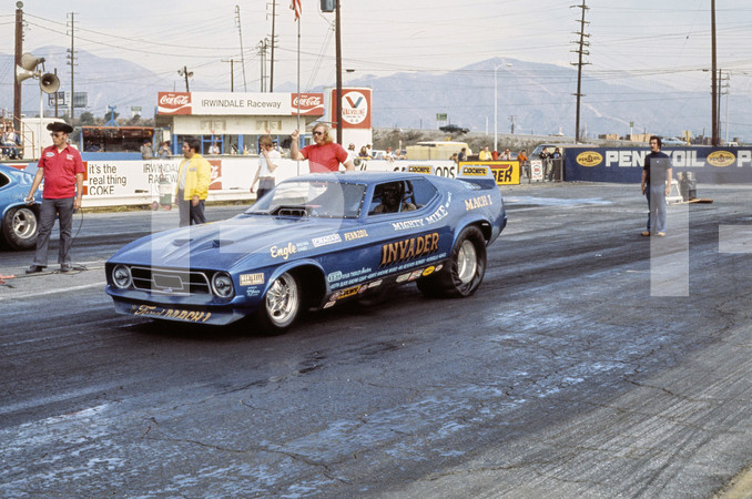 1975 NHRA Grand Premiere Top Fuel Funny Car - Irwindale