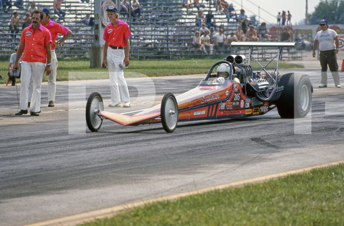 1975 NHRA US Nationals - Indianapolis Raceway Park Clermont Indiana