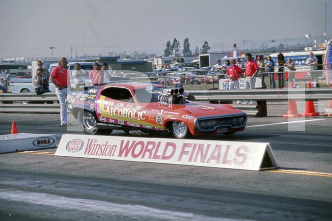 1975 NHRA Winston World Finals - Ontario Motor Speedway