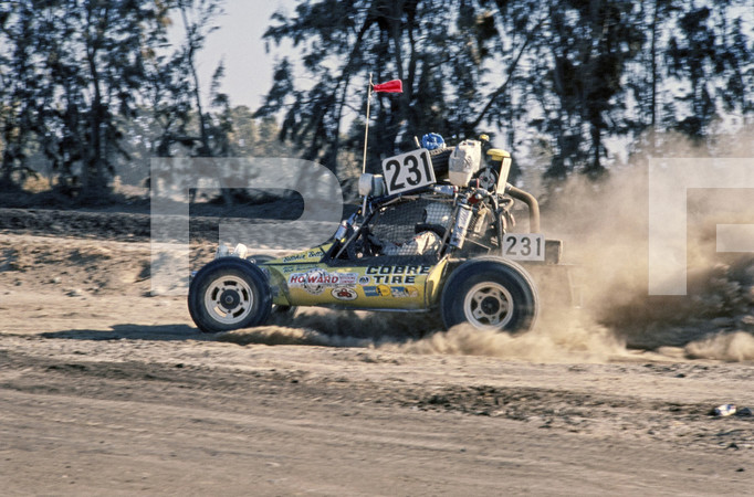 1975 SCORE Baja 1000 Off Road Race - Ensenada