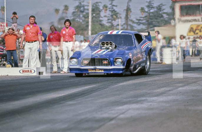 1976 NHRA Winternationals - Los Angeles County Raceway Pomona