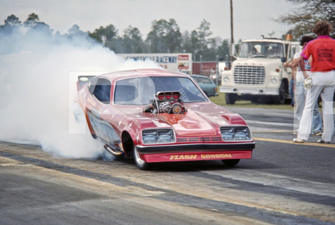 1976 NHRA Seventh Annual Gatornationals - Gainesville Raceway Florida