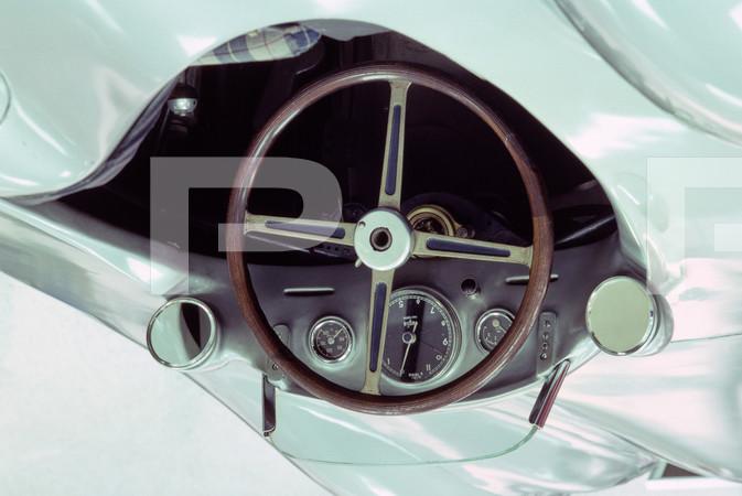 1976 Mercedes Car Exhibit - Indy Museum