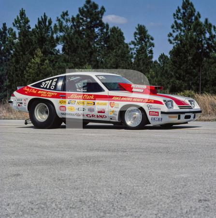 1977 NHRA Gatornationals - Gainesville Raceway Florida Action and Display