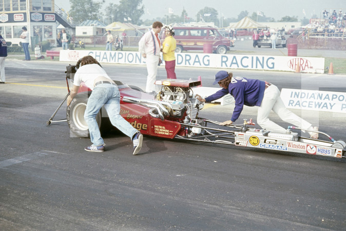 1976 NHRA 22nd US Nationals - Indianapolis Raceway