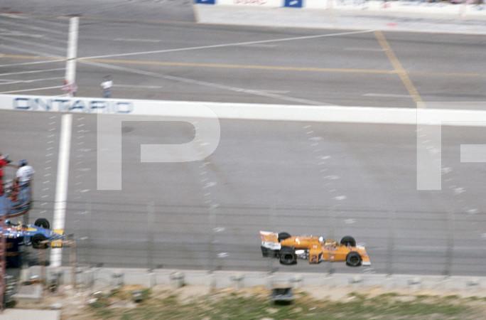 1976 USAC California 500 Indy Car - Ontario Motor Speedway