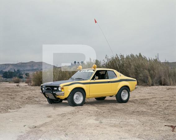 1977 Dodge Colt Mitsubishi Custom Rally Car