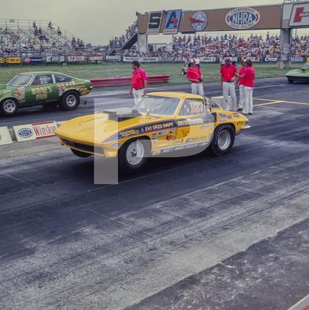 1977 NHRA US Nationals Championship Drag Race - Indianapolis Raceway Park - Indy Nats