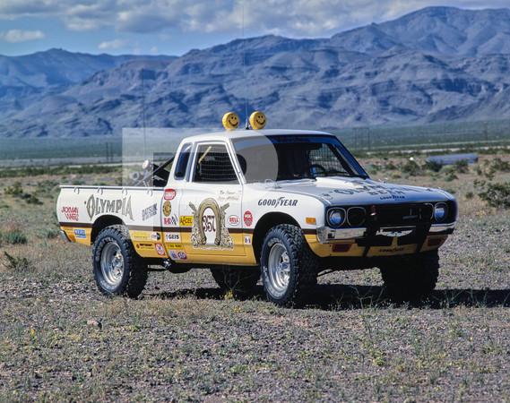 1978 SCORE Mint 400 Off Road Race - Las Vegas - Conners Truck Datsun