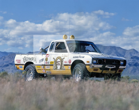 1978 SCORE Mint 400 Off Road Race - Las Vegas - Conners Truck Datsun