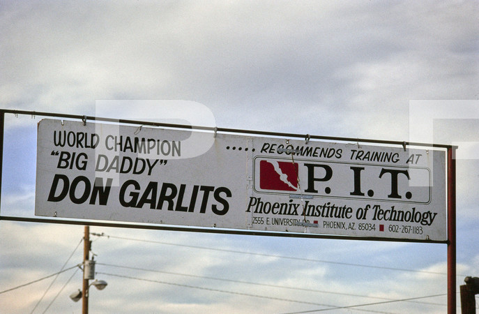 1978 Drag Racing Action - Orange Ccounty International Raceway