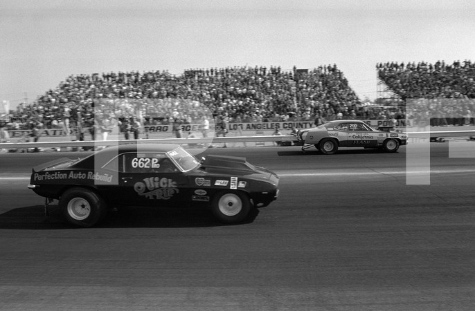 1972 NHRA 13th Annual Winternationals - Los Angeles County Raceway Pomona