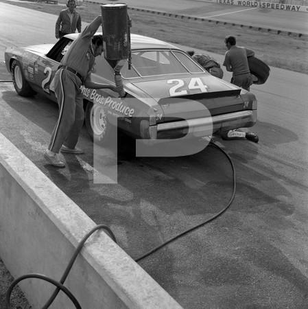 1972 NASCA Wisnton Cup Texas 500 - Texas World Speedway - College Station Texas