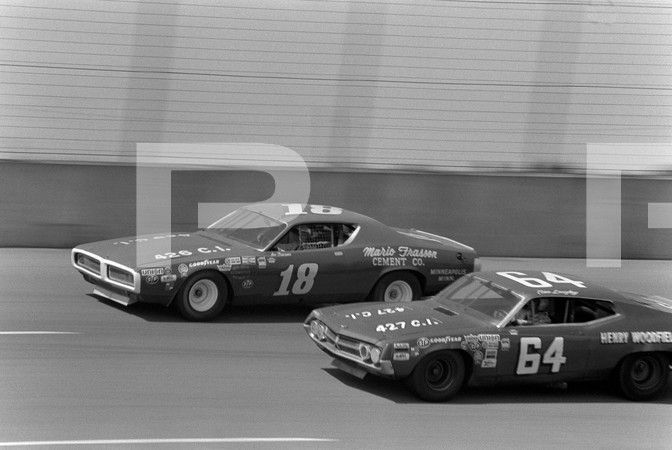 1972 NASCAR Winston Cup Yankee 400 Race - Michigan International Speedway - Brooklyn Michigan