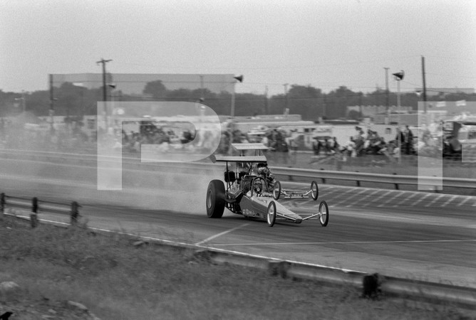 1972 American Hot Rod Association And Professional Racers Association 1st Annual National Challenge - Tulsa International Raceway - funny cars