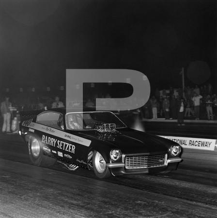 1972 US Navy Recruiting Race - Orange County International Raceway - top fuelers Keeling & Clayton, Cy Schofield, Paul Longenecker