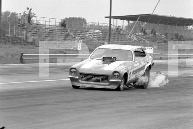 1972 American Hot Rod Association And Professional Racers Association 1st Annual National Challenge - Tulsa International Raceway - Hawaiian funny car, Don Garlits