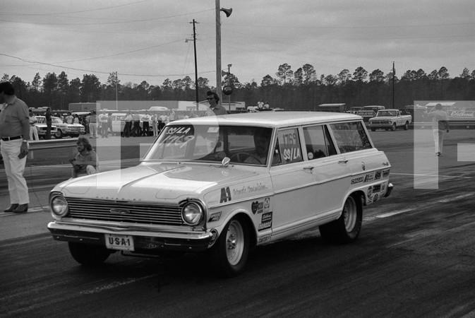 1974 NHRA 5th Annual Gatornationals - Gainesville Raceway Florida