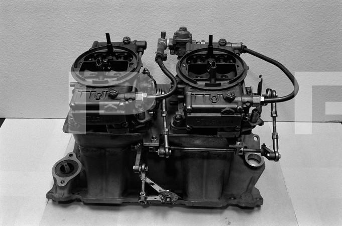 1972 NHRA World Finals - Amarillo Dragway Texas - Scott Shafiroff Engine Tech - carburetor, camshaft, pushrods, rockers, valve springs and lifters, Roy Allen pro stock Vega