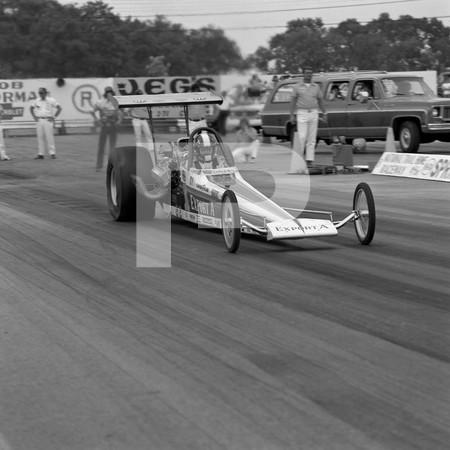 1974 NHRA 3rd Annual Springnationals - National Trail Raceway Hebron Ohio