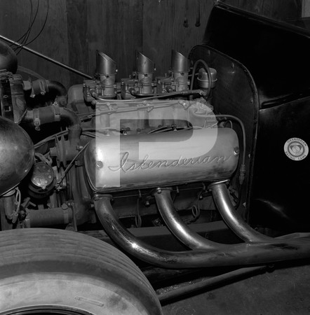1972 Ed Iskenderian Camshaft Manufacturer - Gardena California - engine photos, +/- f-stop