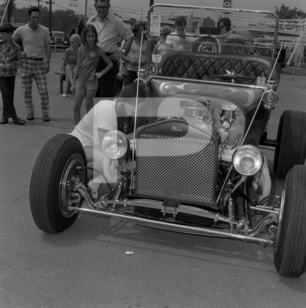 1972 3rd Annual National Street Rod Nationals - Detroit Michigan