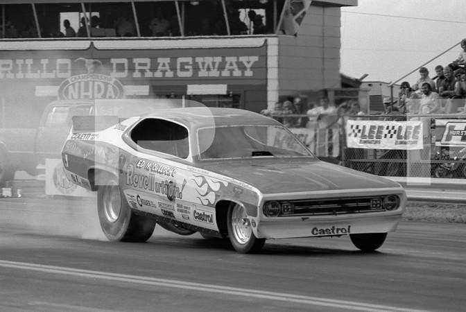 1972 NHRA World Finals - Amarillo Dragway Texas