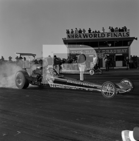 1972 NHRA World Finals - Amarillo Dragway Texas