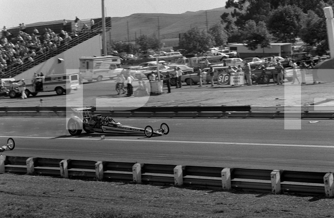 1974 American Hot Rod Association 2nd Annual Grand American West Drag Race - Orange County Intenational Raceway