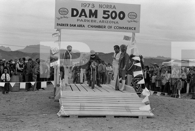 1973 National Off Road Racing Association Dam 500 Off-Road Race - Parker Arizona - Malcolm Smith