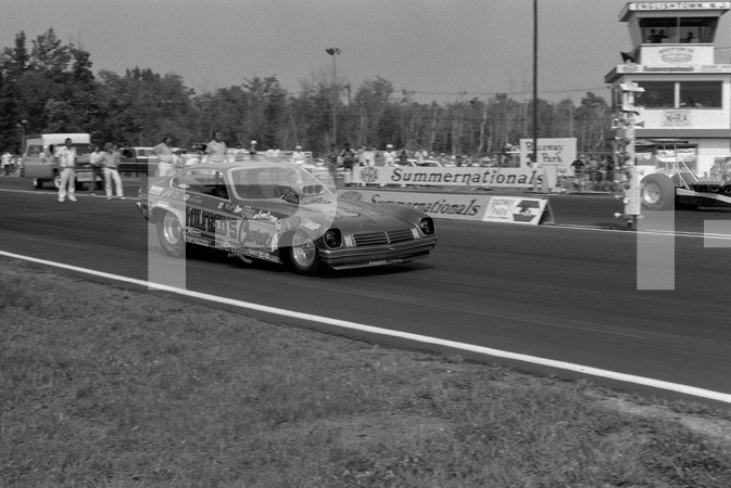 1974 NHRA 4th Annual Summernationals - Old Bridge Township Raceway Park Englishtown New Jersey