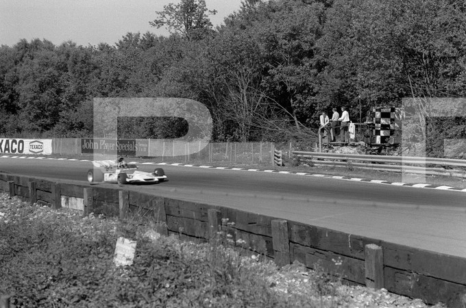 1972 FIA Formula 1 25th British Grand Prix - Brands Hatch Longfield Kent England - no article found, John Player Special Lotus #9, pits