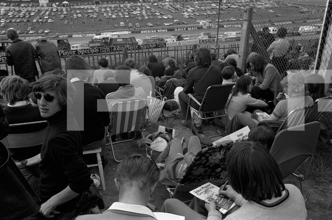 1972 FIA Formula 1 25th British Grand Prix - Brands Hatch Longfield Kent England - no article found, 1 photo blurred, spectators. Photo series lacked racing shots, photographer remains unknown