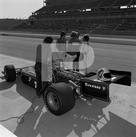 1974 USAC Indy Car 58th Annual 500 Mile Internaitonal Sweepstakes Indianapolis 500 - The Latest If Not The Fastest Indianapolis Racers