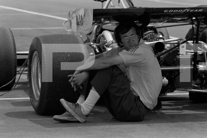 1972 United States Auto Club Champ Car Series Schaefer 500 Qualifying-Pocono International Speedway Long Pond Pennsylvania