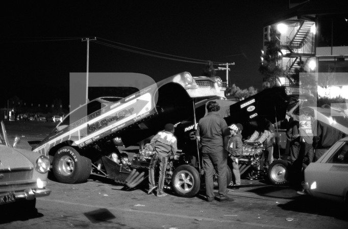 1972 NHRA Manufacturers Meet Funny Car Championships - Orange County International Raceway