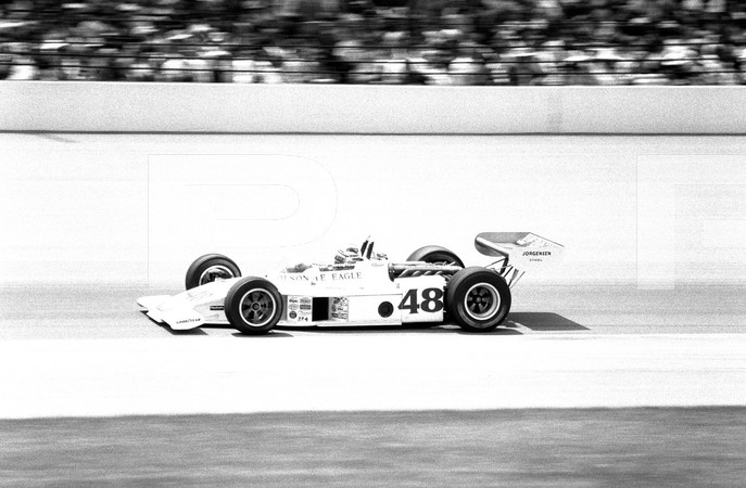 1974 USAC Indy Car 58th Annual 500 Mile Internaitonal Sweepstakes Indianapolis 500 - No Magazine Attribution