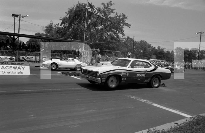 1974 NHRA JEGS Lucas Oil 1st Annual Sportsnationals - Beech Bend Raceway Park Bowling Green Kentucky