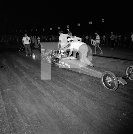 1974 Professional Dragster Association Dragster Championship - In The Snake Pit -  Orange County