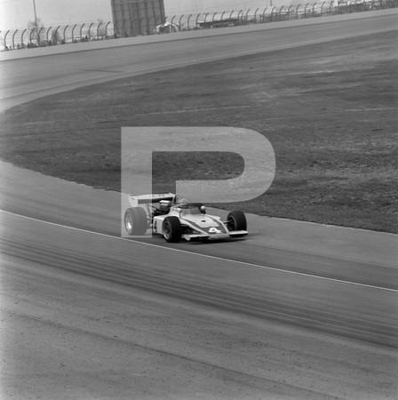 1974 USAC Indy Car 5th Annual California 500 - Ontario Motor Speedway - No Magazine Attribution