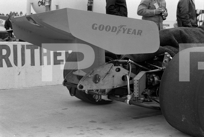 """1974 USAC Indy Car 5th Annual California 500 - Ontario Motor Speedway - No Photos Posted Of Subject Matter In """"Brokaws Beat"""""""