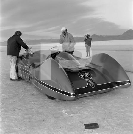 1974 Dean Moons Moonliner - Budweiser Television Ad Filming - Bonneville Salt Flats Utah
