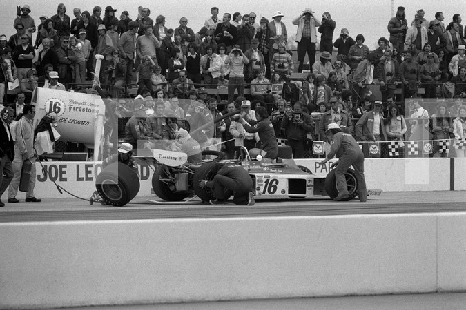 "1974 USAC Indy Car 5th Annual California 500 - Ontario Motor Speedway - No Photos Posted Of Subject Matter In ""Brokaws Beat"""